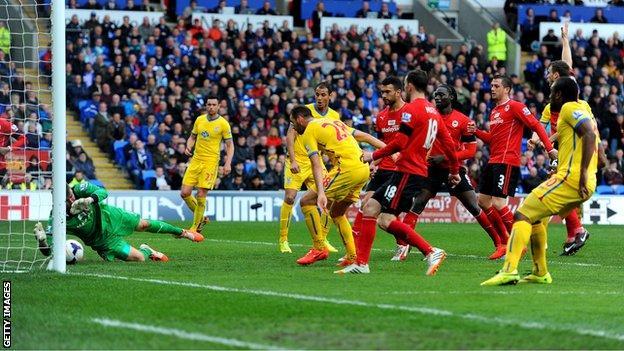 Cardiff City v Crystal Palace