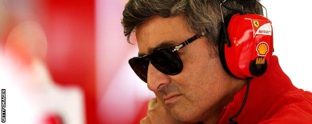 New Ferrari team boss Marco Mattiacci.