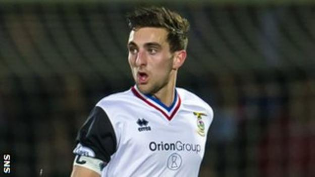 Inverness Caledonian Thistle defender Graeme Shinnie