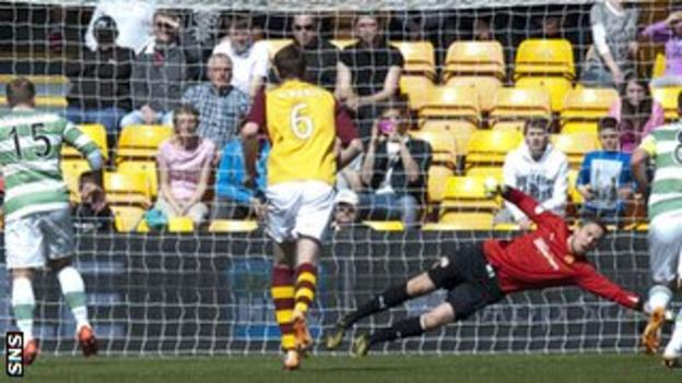 Motherwell penalty save