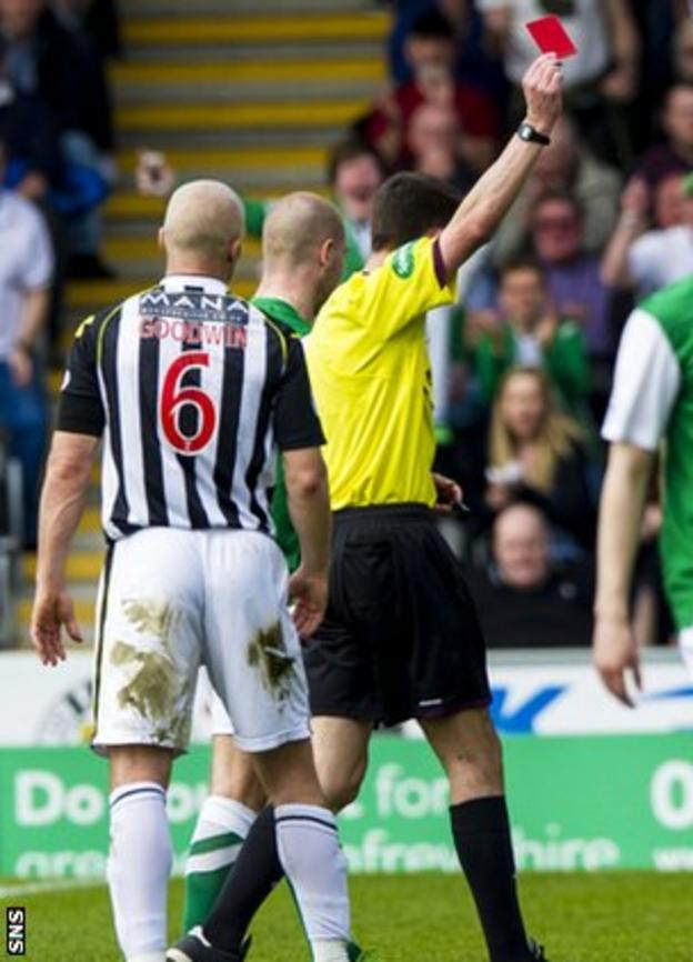 Goodwin red card