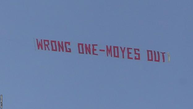 Wrong One - Moyes Out banner
