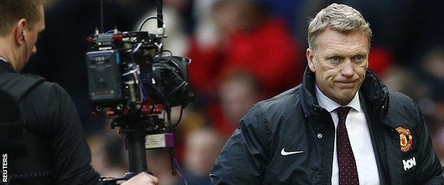 Media scrutiny on Moyes increased day by day
