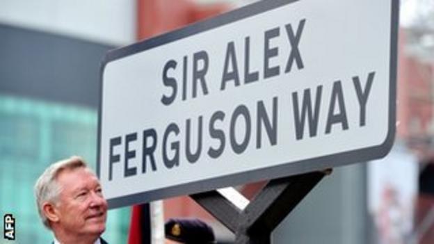 Former Manchester United manager Sir Alex Ferguson