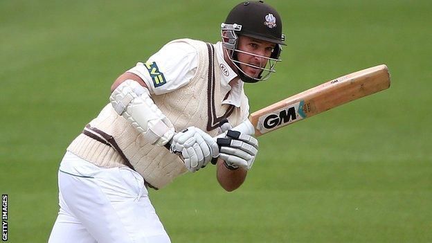 Graeme Smith batting for Surrey