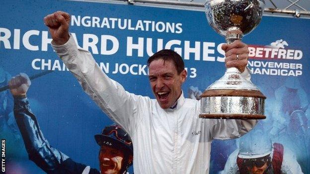 Champion jockey Richard Hughes