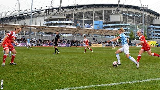 Manchester City Women v Bristol Academy