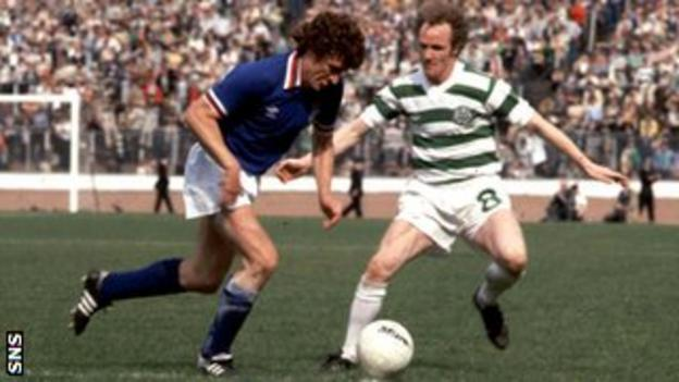 Jardine made over 600 appearances for Rangers