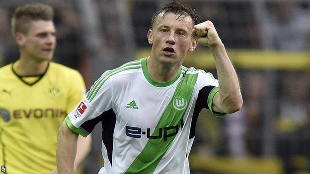 Ivica Olic - Croatia and Wolfsburg striker