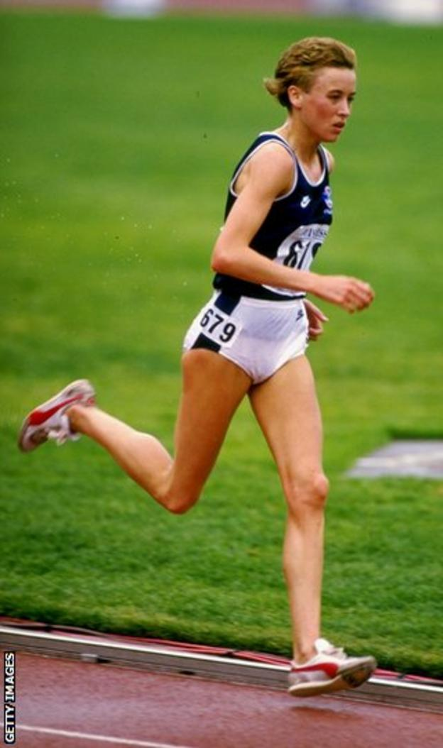 Liz Lynch, who is now Liz McColgan, was the highlight of the Games for Scottish fans with victory in the 10,000m