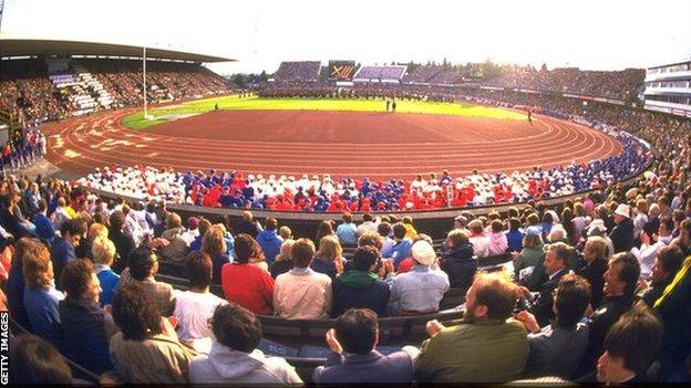 Opening Ceremony of the 1986 Commonwealth Games
