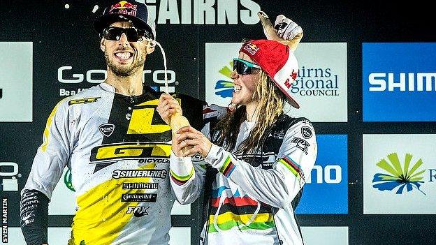 Gee and Rachel Atherton