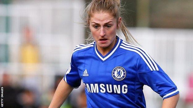 Chelsea's Laura Coombs