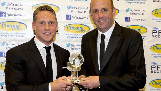 Kris Commons and Gary McAllister