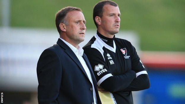Mark Yates and Neil Howarth
