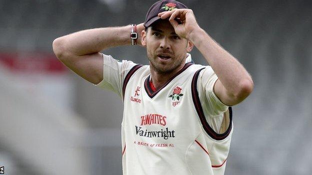 Lancashire's James Anderson