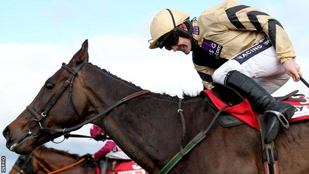 Ruby Walsh rode Boston Bob to victory in the Gold Cup at Punchestown
