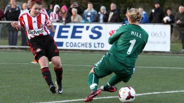 Sunderland striker Abbey Joice