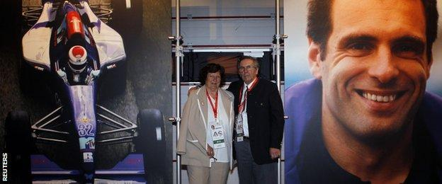 Roland Ratzenberger's parents
