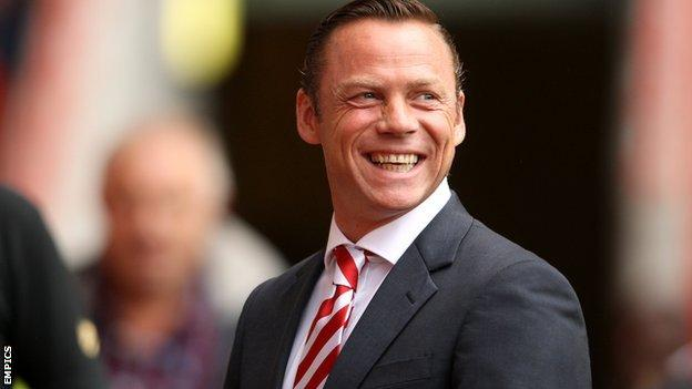 Doncaster Rovers boss Paul Dickov