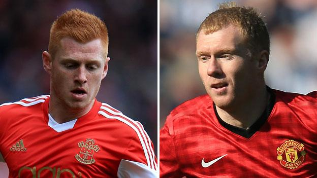 Harrison Reed and Paul Scholes