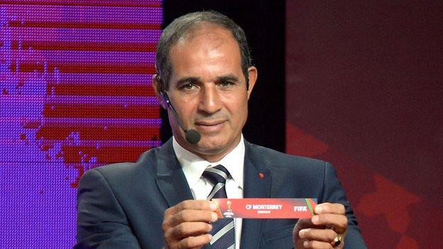 Morocco coach Badou Zaki