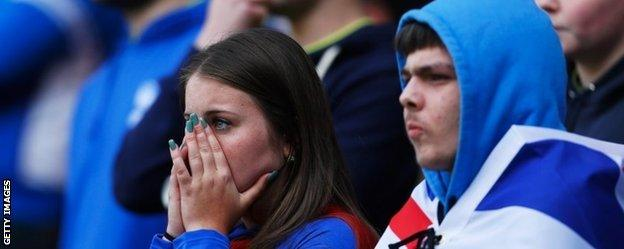Birmingham fans endured an anxious afternoon before seeing their side secure their Championship survival