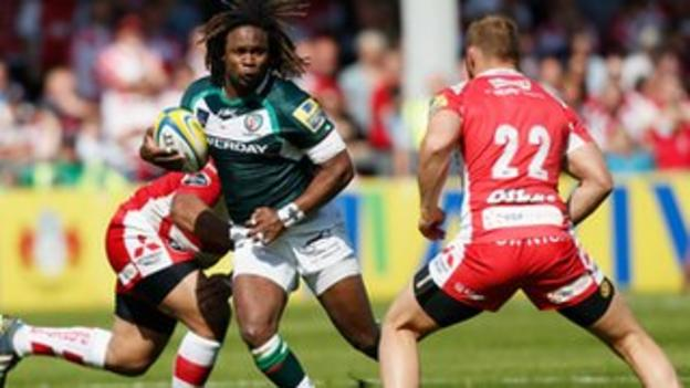 Marland Yarde scored a hat-trick for London Irish at Gloucester