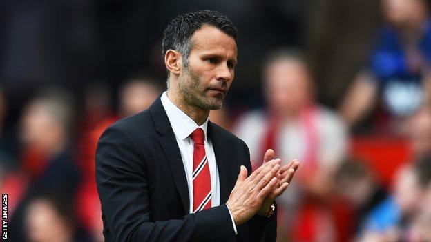 Manchester United interim manager Ryan Giggs