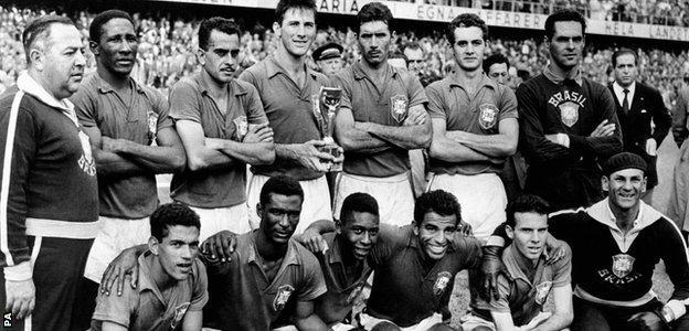 Brazil 1958 World Cup team