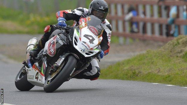 Dan Kneen in action at Tandragee