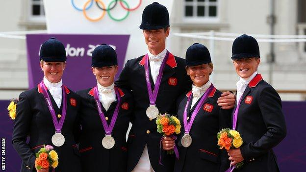 Team GB Eventing team