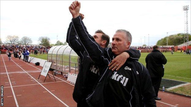 Darren Caskey and Gary Mills