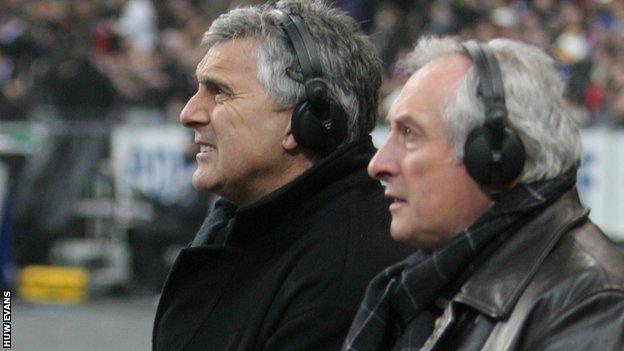 Gareth Davies and Gareth Edwards