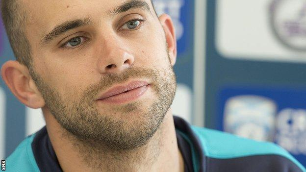 Scotland captain Kyle Coetzer