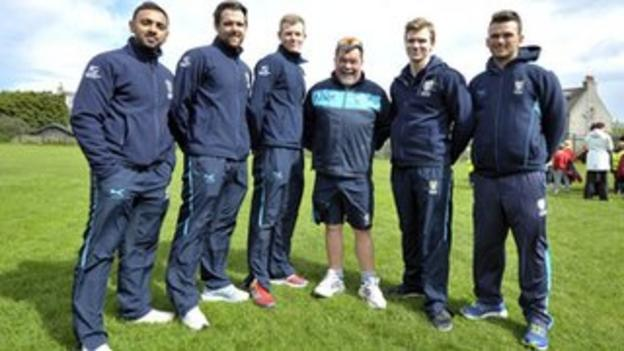 Cricket taster day in Aberdeen