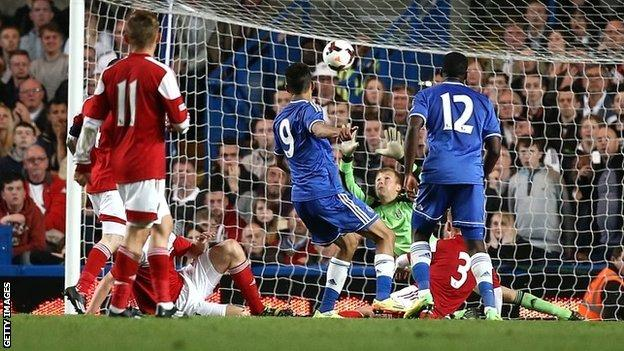 Chelsea and Fulham contest the FA Youth Cup final