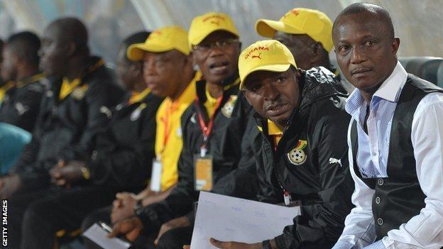 Ghana coach Kwesi Appiah