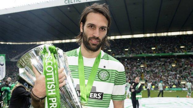 Celtic striker Georgios Samaras