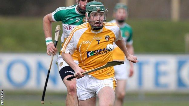 Paul Shiels continued his brilliant form for Antrim