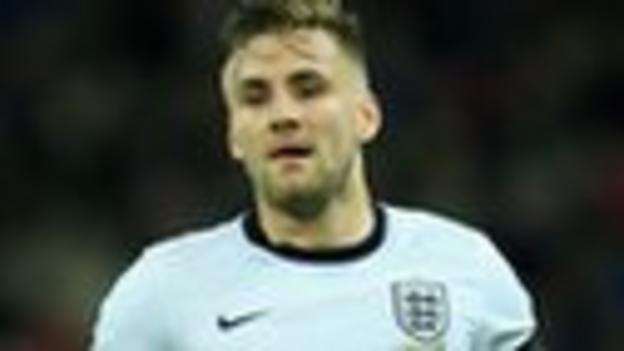 England defender Luke Shaw