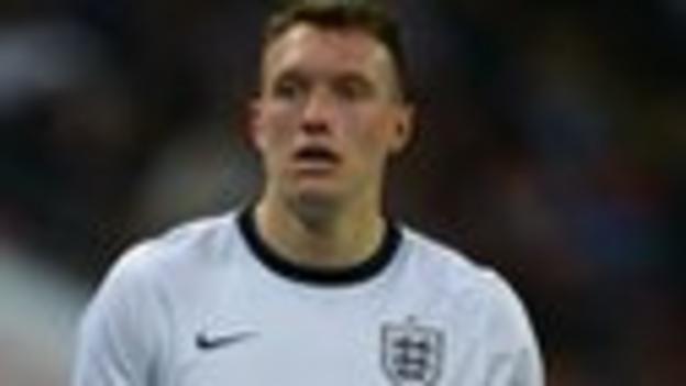 England defender Phil Jones