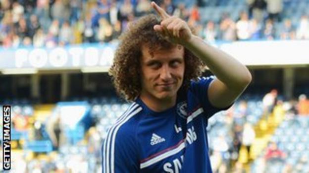 Could Chelsea defender David Luiz be waving goodbye to Stamford Bridge?