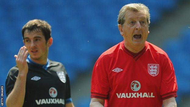 Roy Hodgson, Leighton Baines