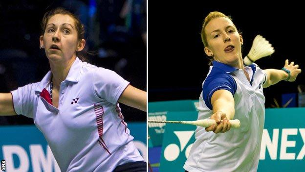Kirsty Gilmour (left) and Imogen Bankier