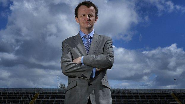 Austin O'Callaghan will present this year's Ulster Football Championship coverage on BBC TWO Northern Ireland