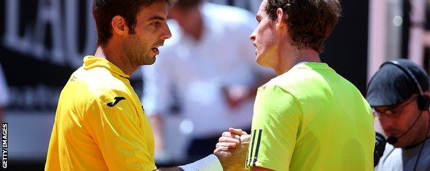 Marcel Granollers and Andy Murray