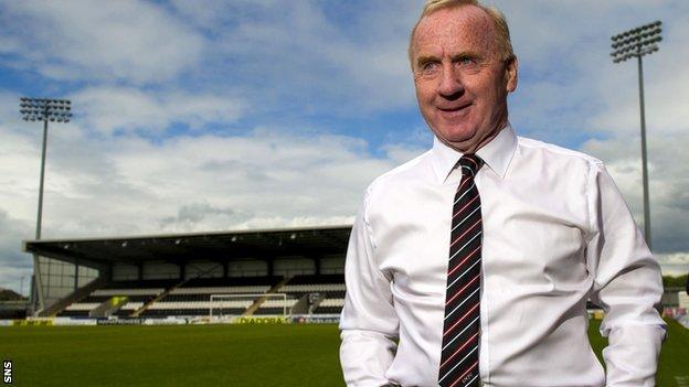 New St Mirren manager Tommy Craig