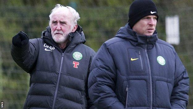 Celtic coach Danny McGrain