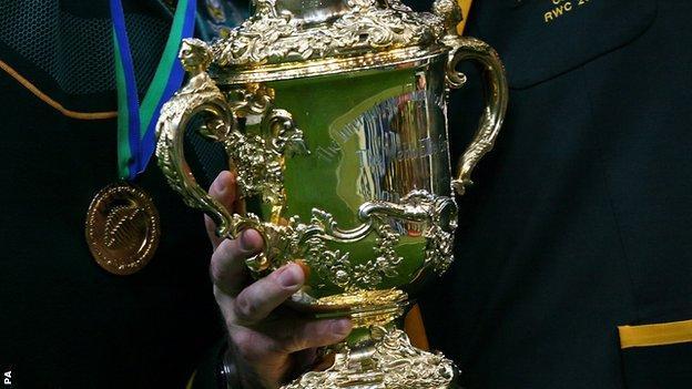 Rugby World Cup Webb Ellis Trophy